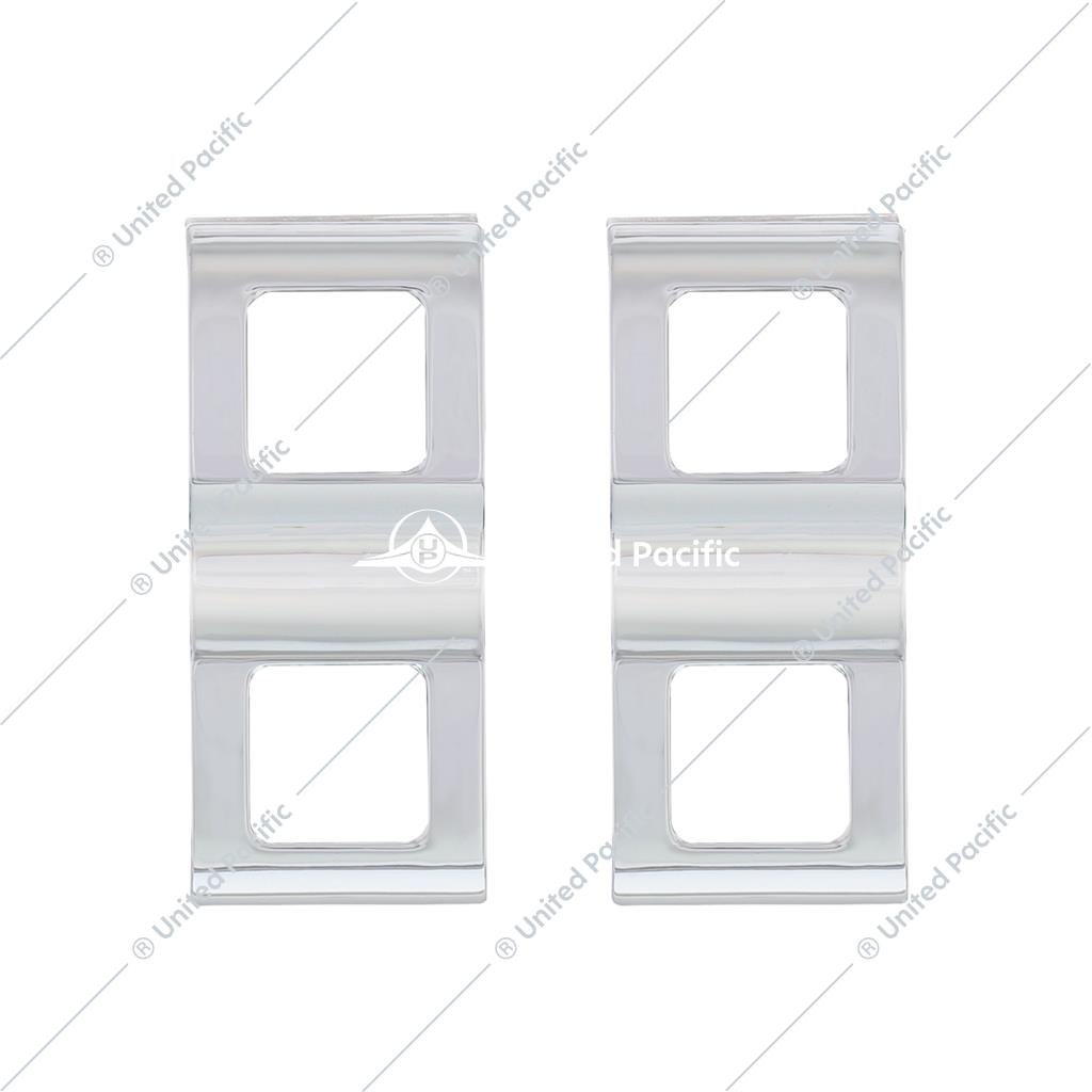 Switch Cover For 2008-2017 Freightliner Cascadia - 2 Openings (Card of 2)