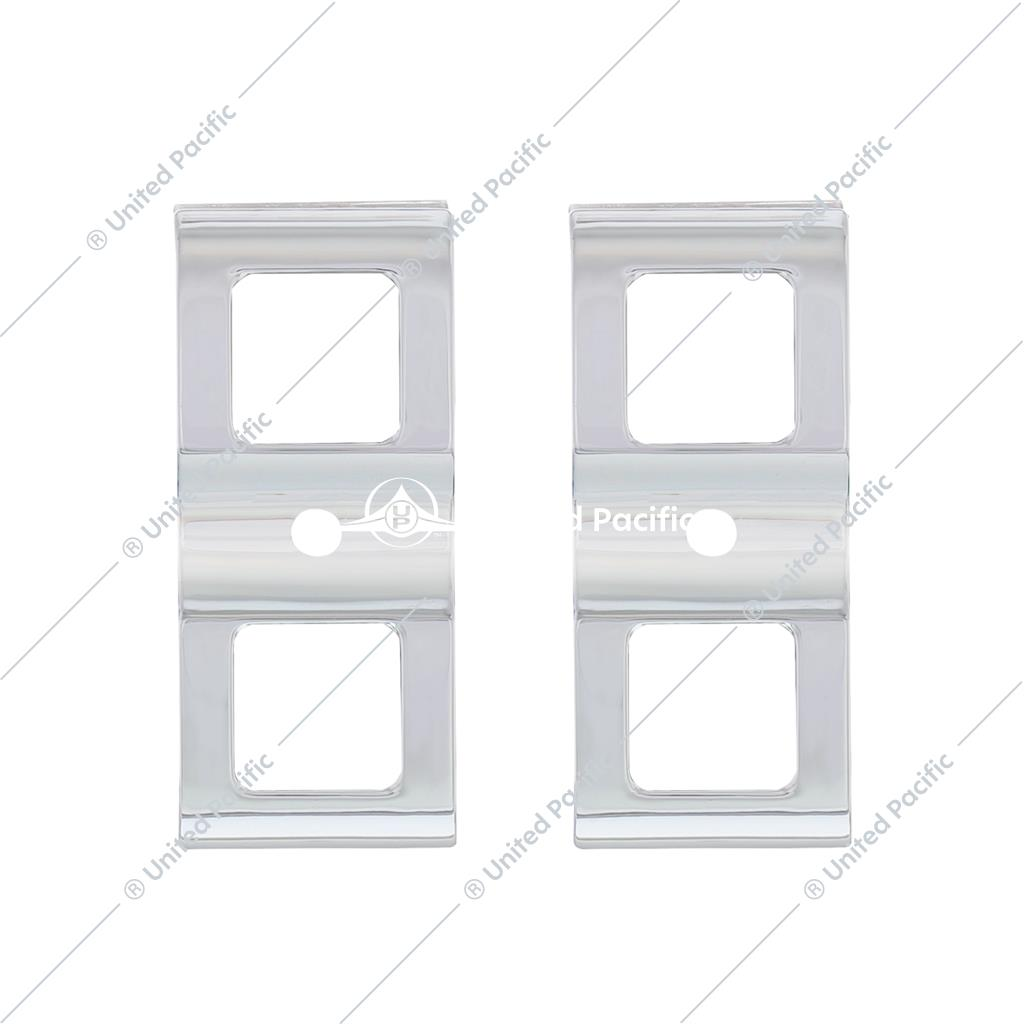 Switch Cover For 2008-2017 Freightliner Cascadia - 3 Openings (Card of 2)