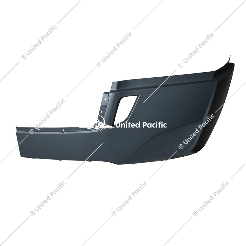 Bumper Cover W/Deflector Holes For 2018-2020 FL Cascadia Without Fog Lamp Hole -Driver