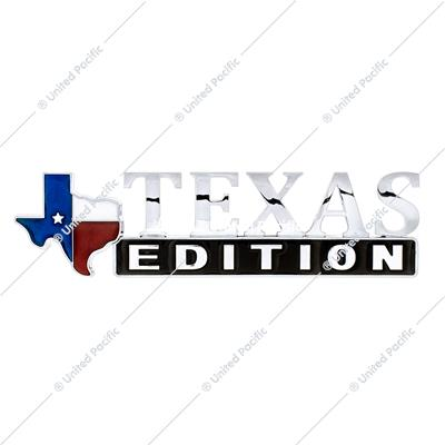 """Texas Edition"" Accent Emblem"