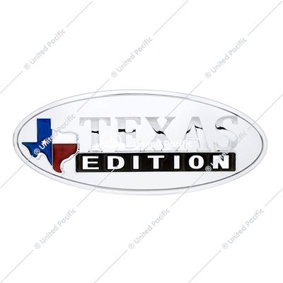 "Chrome Oval Emblem - ""Texas Edition"""
