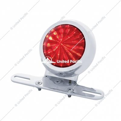 1950s Pontiac Style LED Fender Light With Red Lens
