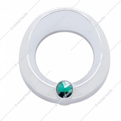 Universal Small Gauge Cover w/ Visor - Green Diamond