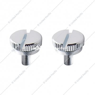 5mm Chrome C.B. Mounting Bolt - Plain (2 Pack)