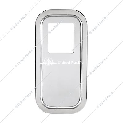 Peterbilt Stainless Steel Shift Plate Cover - Extended Hood