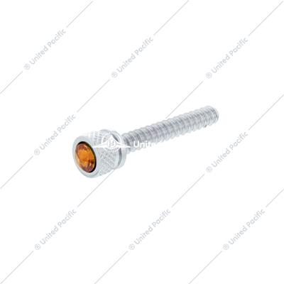 Chrome Long Dash Screw With Copper Diamond For Freightliner (Bulk)