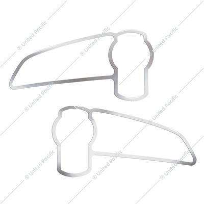 Stainless 2008+ Kenworth T660/T370 Air Intake Logo Trim