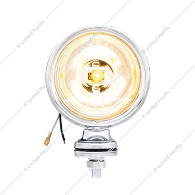 "4"" Chrome Off Road Halogen Light With Clear Lens"