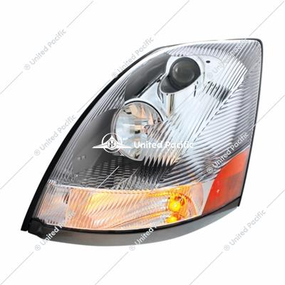 Chrome Headlight For 2003-2017 Volvo VN/VNL -Driver