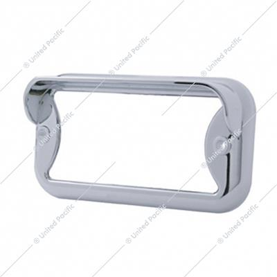 Small Rectangular Light Bezel w/ Visor