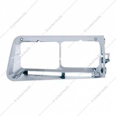 Headlight Bezel With LED Cutout For 1989-2009 Freightliner FLD -Driver