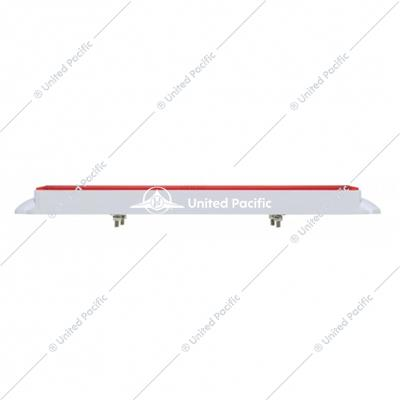 "Dual 24 LED Dual Function 12"" ""GLO"" Light Bar w/ Bezel - Red LED/Red Lens"