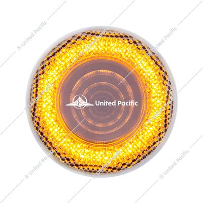 "12 LED 2.5"" Mirage Clearance/Marker Light - Amber LED/Clear Lens"