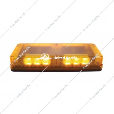 18 High Power LED Mini Warning Bar - Permanent Mount