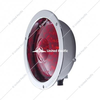 "40 LED Deep Dish 4"" Stop, Turn & Tail Light - Red LED/Red Lens"