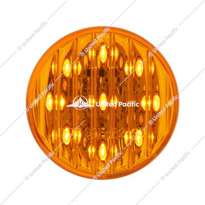 "9 LED 2"" Round Clearance/Marker Light Pack - Amber LED/Amber Lens (40 Pack)"