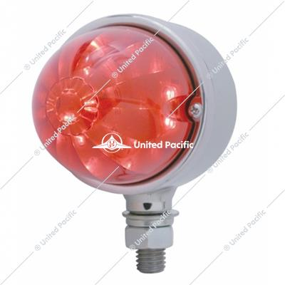 17 LED Dual Function Watermelon Single Face Light - Red LED/Red Lens