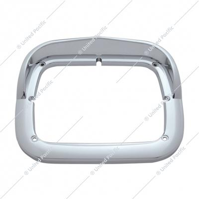 Single Headlight Bezel w/ Visor