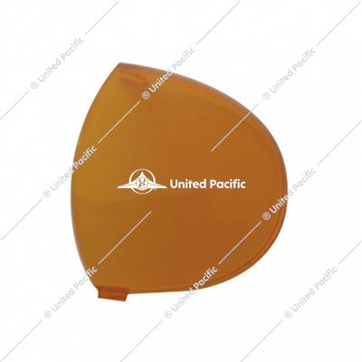 2006+ Kenworth Round Dome Light Lens - Amber