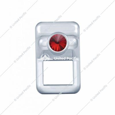 Volvo Toggle Switch Cover w/ Red Diamond