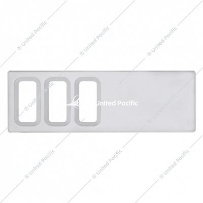 International Dash Switch Panel Cover - 3 Openings