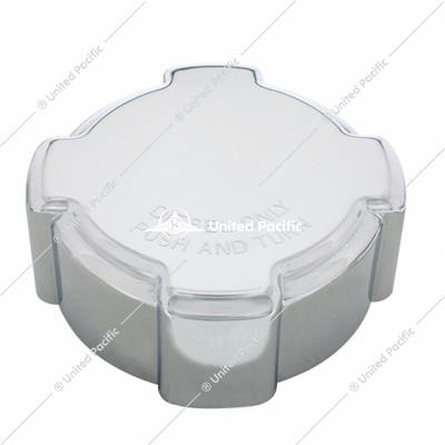 Chrome Freightliner Fuel Cap Cover