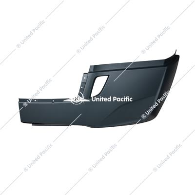 Bumper Cover Without Deflector Holes For 2018-2020 FL Cascadia Without Fog Lamp Hole -Driver