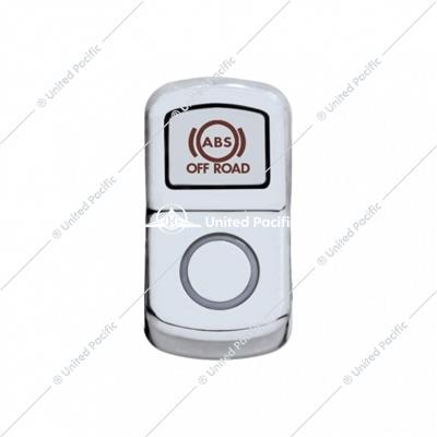 """ABS Off Road"" Chrome Rocker Switch Cover - Plain"