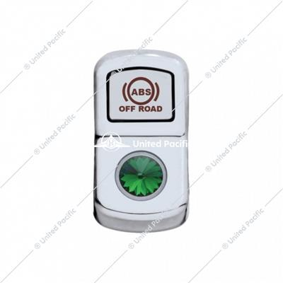 """ABS Off Road"" Rocker Switch Cover w/ Green Diamond"