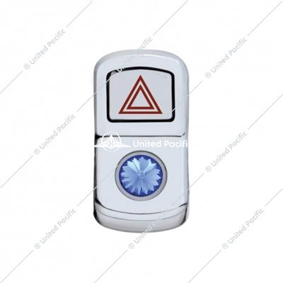 """Hazard"" Rocker Switch Cover w/ Blue Diamond"