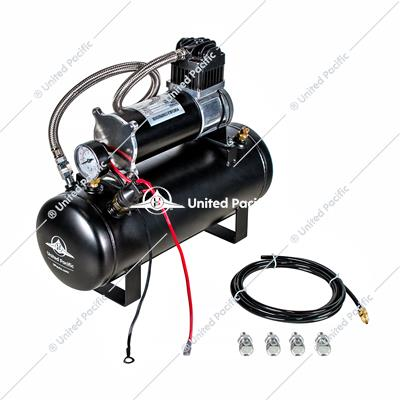 """Competition Series"" Heavy Duty 12V 140 PSI Air Compressor & Tank Kit"