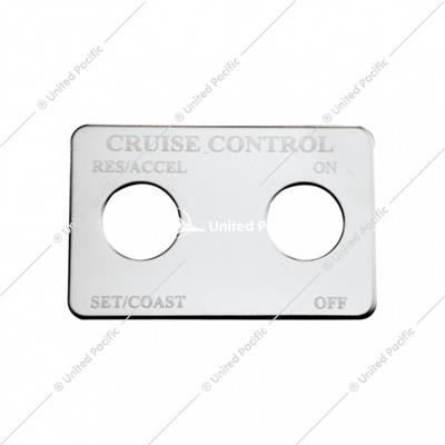Freightliner Switch Plate - Cruise Control (2 Switches)
