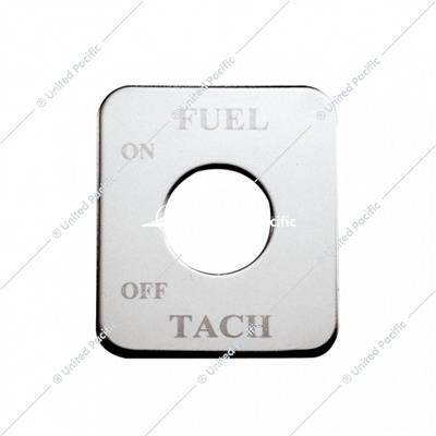 Freightliner Switch Plate - Fuel/Tach