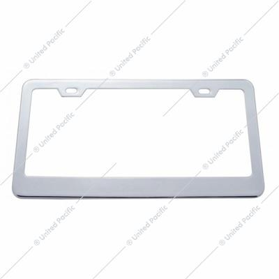 Plain License Plate Frame 1 1/16""