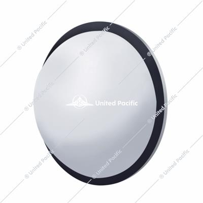 "8 1/2"" Stainless Steel Convex Fisheye Mirror"