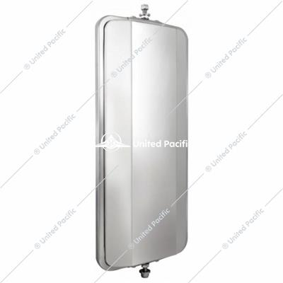 "7"" X 16"" Stainless West Coast Mirror - Heated"