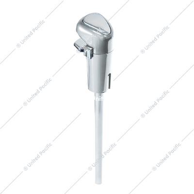 Lower Gearshift Knob Cover - Liquid Silver
