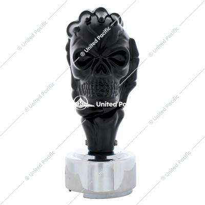 Black Skull 13/15/18 Speed Gearshift Knob w/ Adapter