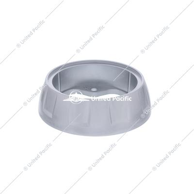Steering Wheel Horn Bezel - Liquid Silver