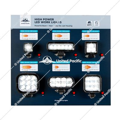 United Pacific Work Light Display